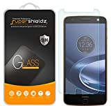 [2-Pack] Motorola Moto Z Force Droid Tempered Glass Screen Protector, Supershieldz Anti-Scratch, Anti-Fingerprint, Bubble Free, Lifetime Replacement Warranty
