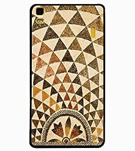 ColourCraft Lovely Pattern Design Back Case Cover for LENOVO A7000