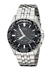 Citizen Men's CB0020-50E World Perpetual A-T Stainless Steel Watch