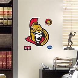 NHL Ottawa Senators Fathead Logo