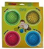 Edushape 4 Count Multi-Sensory Balls Gift Set by Edushape