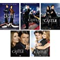 Castle: Complete Seasons 1-5 DVD