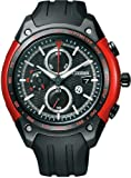 [シチズン]CITIZEN 腕時計 CITIZEN × TOYOTA 86 コラボレーションモデル Eco-Drive エコ・ドライブ フラッシュレッド <strong>【数量限定】</strong> CA0384-09E メンズ