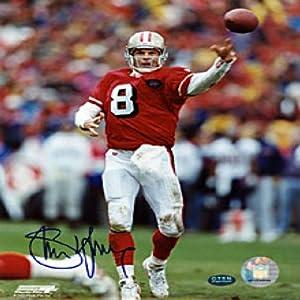 Steve Young Autographed Signed San Francisco 49er