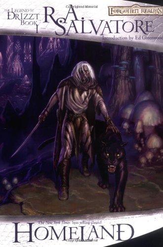 the dark elf trilogy homeland pdf