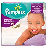 Pampers Active Fit Size 5+ (Junior+) Monthly Pack -124 Nappies