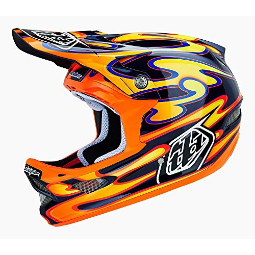 troy-lee-d3-squirt-casco-de-ciclismo-carbono-color-negro-y-naranja-unisex-color-negro-negro-naranja-