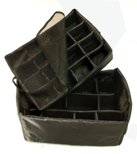 Pelican 1525 Padded Divider Set for the 1520 Case, Single Layer (Black)