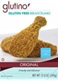 Glutino Gluten Free Breadcrumbs, 12 Ounce (Pack of 12)