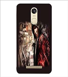 PrintDhaba Devil D-2220 Back Case Cover for XIAOMI REDMI NOTE 3 (MEDIATEK) (Multi-Coloured)