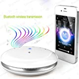 Vagus ElectronicsTM - Flat Compact Portable Travel Wireless Bluetooth Speaker foriPhone, 3, 3GS, 4, 4S, 5, all HTC, HTC One S, V, X, XL, HTC Desire, C, HD, S, Z, HTC Sensation, XE, XL, HTC Wildfire, S, HTC 7 Pro, ChaCha, Incredible S, Radar, Trophy, Sals
