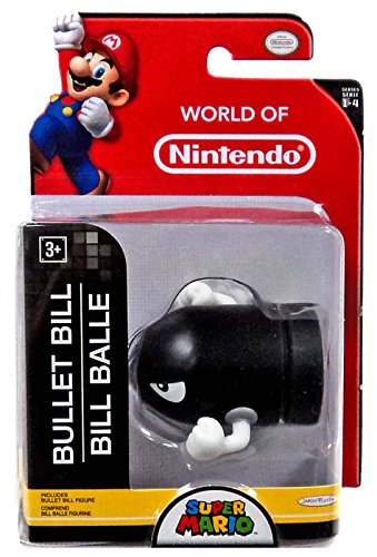 World of Nintendo Bullet Bill 2.5 Figure by Jakks Pacific