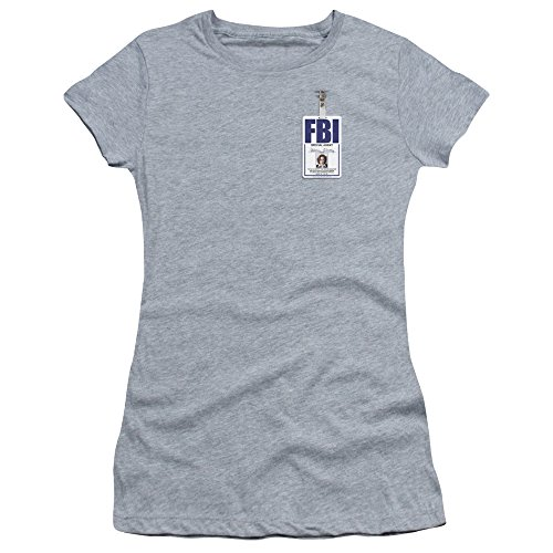x-files-classic-sci-fi-tv-show-scully-badge-juniors-sheer-jersey-t-shirt-tee