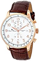 Lucien Piccard Men's LP-10503-RG-02-BR Montilla Analog Display Japanese Quartz Brown Watch from Lucien Piccard