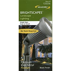 Click to buy Malibu Outdoor Lighting: Malibu Brightscapes Landscape Lighting Black Finish Premium Cast Metal Floodlight from Amazon!