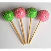 Cake Pops Green And Pink Set Of 4 Perfect For 18 Inch American Girl Dolls
