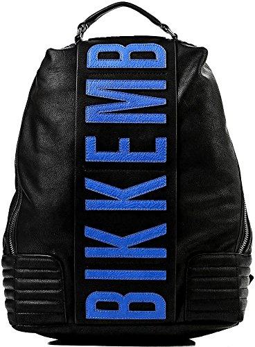 Zaino Uomo Donna Bikkembergs Backpack Men Woman DB- BAND D2703-Blu