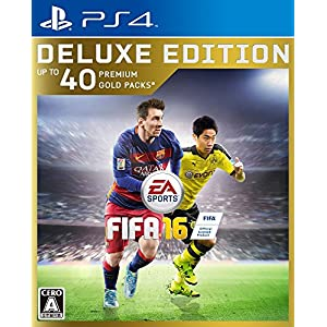FIFA 16 DELUXE EEDITION 【限定版特典】