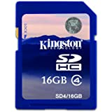Kingston 16GB SDHC Memory Card For Canon Powershot A2400 is Digital Camera