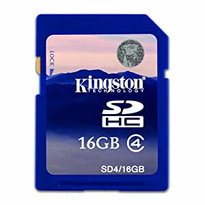 Kingston 16GB SDHC Memory Card For Canon Powershot A4000 is Digital Camera