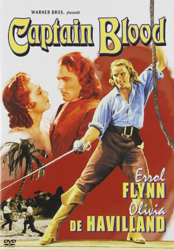 Cover art for  Captain Blood