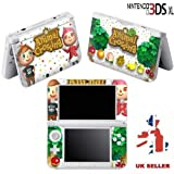 ANIMAL CROSSING Vinyl Skin Sticker For Nintendo 3DS XL Console Vinyl Skin Cover In A Retail Pack. Ready For Fast 1st Class UK Post.