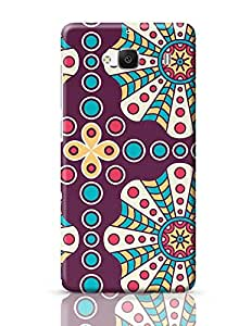 PosterGuy Redmi 2 Case Cover - Polka Dots Flower | Designed by: Codeburnerz Technologies
