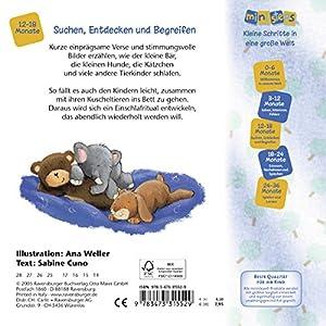 Wenn kleine Tiere müde sind: Erste Reime für die gute Nacht. Ab 12 Monaten (ministeps B