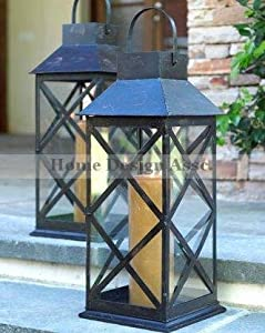 Extra large outdoor candle lanterns