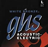 GHS Strings Acoustic Guitar Set (Light, White Bronze, Alloy 52)