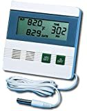 General Tools & Instruments DTR900 Inside/Outside Digital Thermometer with Minimum/Maximum Memory