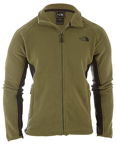 The North Face Khumbu 2 Fleece Jacket Men's Burnt Olive Gree