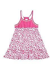 Wowmom Baby-Girls' Pink Frock