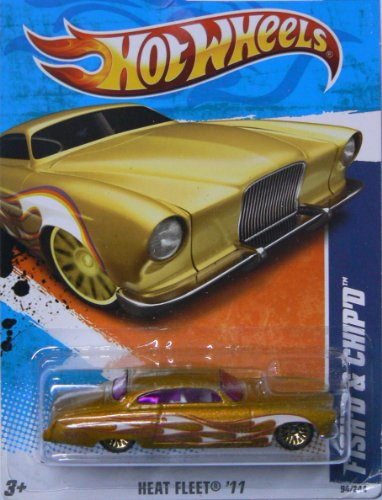 2011 Hot Wheels Fish'd & Chip'd Gold #94/244 - 1