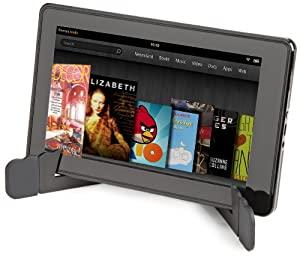 AmazonBasics Mini Travel Stand for Tablets and e-Readers including iPad 4, iPad 2, Samsung Galaxy Tab 10.1 and 7.0, Kindle Fire, Kindle Fire HD, and Kindle Touch (Black)