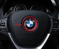 Decorative Steering Wheel Logo Trim for BMW X1 X3 X4 X5 X6 Z3 Z4 i3 i8 Z8 E63 E64 F20 F21 F25 E81 E84 E85 E86 E89 E34 E38 F10 F11 F30 F31 F10 E87 E88 E82 E36 E46 E90 E91 E92 E93 E39 E30 E32 E60 E61 E65 E66 F01 F02 M3 M4 M5 M6 F06 F07 by JPCARBON