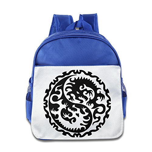 Boys-Girls-Taoism-Symbols-Judaism-Dragon-Totem-School-Bag-Backpack