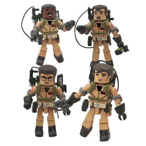Action Figure 6-99788-21025-3 Ghostbusters Minimates I Love This Town Box Set by Diamond Select Toys