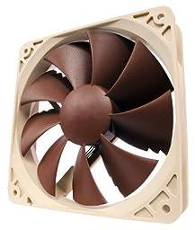 Noctua (NF-P12 PWM) - 120mm Two Speed Premium Fan, 1300/900 RPM, SSO2 Bearing with NE-FD1 PWM- 3pk