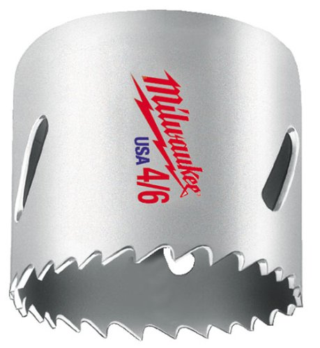 "4/6 Super Tough® Bi Metal Hole Saw 2 3/4"" (Mlw49-56-0161)"