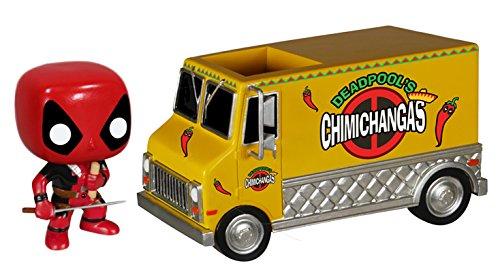 Funko Pop Rides: Deadpool's Chimichanga Truck Action Figure