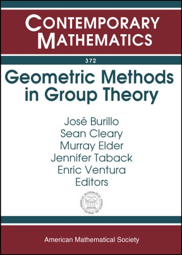 Geometric Methods In Group Theory: Ams Special Session Geometric Group Theory, October 5-6, 2002, Northeastern Universit