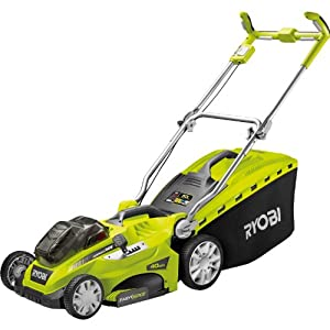 Ryobi RLM18X40H240 ONE+ 18V Cordless Fusion Lawnmower with 2 x 4.0Ah Batteries and Charger