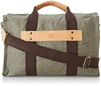 Will Leather Men's Waxed Canvas Duffle by Will Leathergoods Men's Accessories