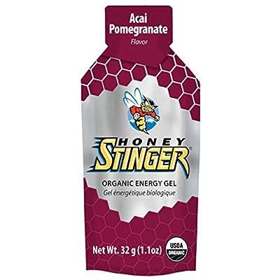 Honey Stinger Organic Energy Gel, Acai and Pomegranate, 1.1 Ounce (Pack of 24)