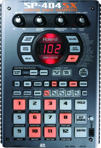 Great Features Of Roland SP-404SX Linear Wave Sampler