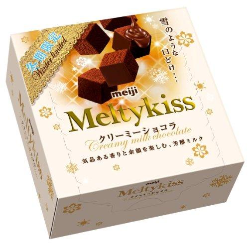 明治 メルティーキッスクリーミーショコラ 60g×5個