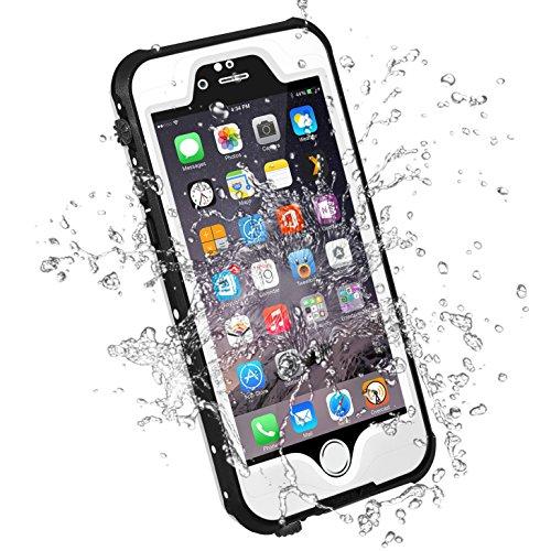 HESGI iPhone 6S PLUS Waterproof Case, IP-68 Waterproof Shock
