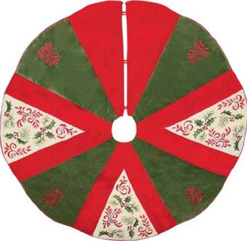Needlepoint Christmas Tree Skirt