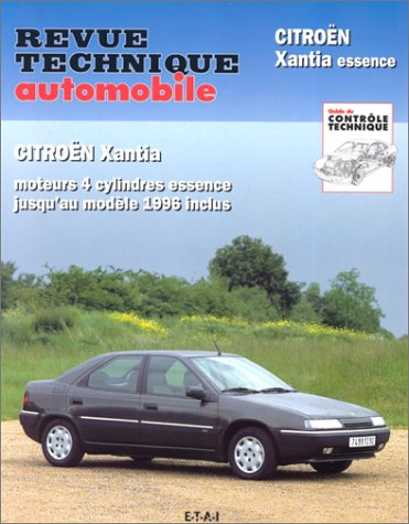 [MU] Revue technique automobile citroen Xantia 